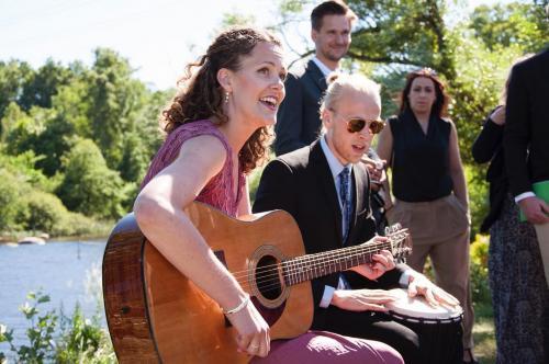 bröllopssång, musikduo Anna & Jesper